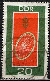 Germany DDR; 1969: Sc. # 1126: O/Used Single Stamp