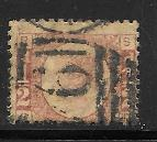 Great Britain 58 plate 3 used 2013 SCV $42.50  -  2716