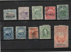 costa rica stamps ref 11947
