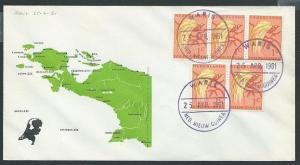 NETHERLANDS NEW GUINEA 1961 cover WARIS cds................................46293