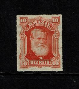 Brazil SC# 68 Mint Hinged / Hinge Rems / Tiny Paper Rem - S7067