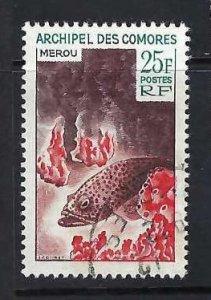 COMORES 66 VFU FISH Z173