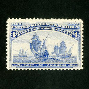 US Stamps # 233 XF P.O fresh OG NH