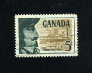 Canada  379  -1   used VF PD 1958