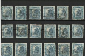 jamaica cancel and stamps study ref 13630