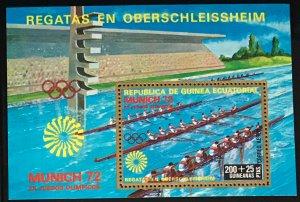 Equatorial Guinea #MiBl15 MNH S/S CV€7.00 Olympics