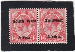 South West Africa,  #  30     unused  pair
