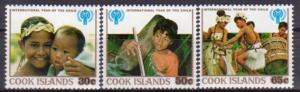 Cook Islands MNH 529-31 International Year Of The Child 1979