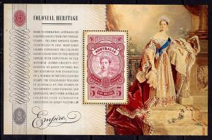 Australia 3253a MNH - SG# MS3394 - Colonial Heritage s/s - 2010