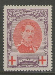 Belgium 1915 Sc B36b perf.12 MH