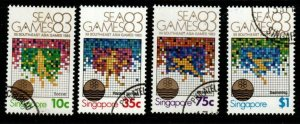 SINGAPORE SG447/50 1983 SOUTH EAST ASIA GAMES FINE USED