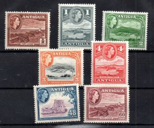 Antigua 1953 QEII mint LHM collection to 60c WS17382