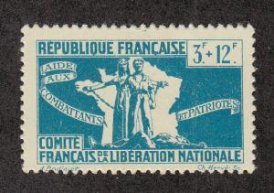 French Colonies Scott #B5 MH