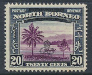 North Borneo  SG 344 SC# 232 MH    OPT GR Crown - See scans
