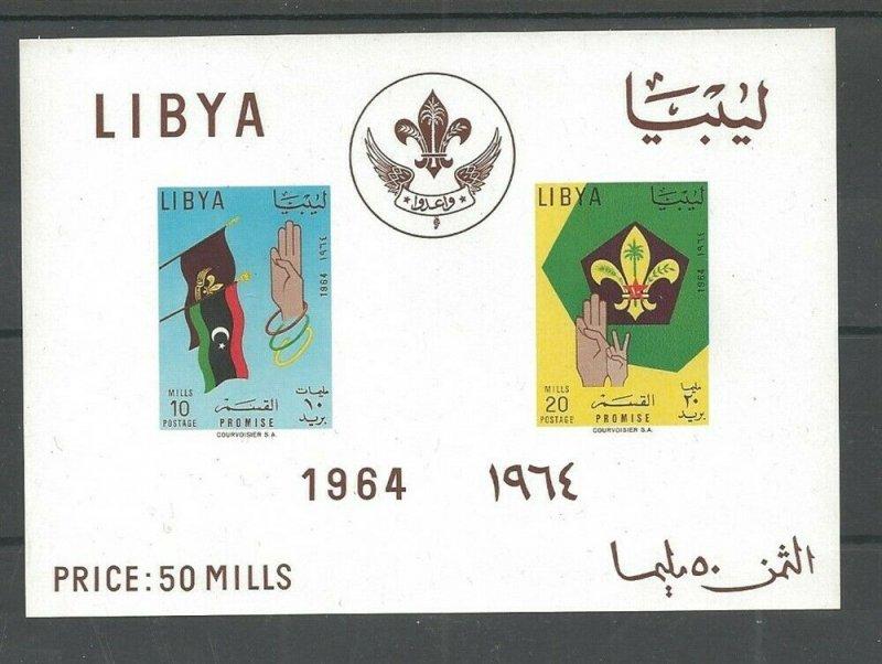 1964 Libya Promise Camp Boy Scouts SS