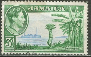 Jamaica; 1938: Sc. # 121: O/Used Single Stamp