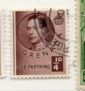 Grenada 1938 GVI Early Issue Fine Used 1/4d. 204920