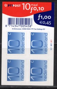Netherlands Scott # 537, 10x self adhesive stamps, mint nh