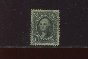 Scott 97 Washington F-Grill XF+++ Appearance Unused Stamp with PF Cert (97-PF1)