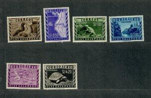 Ecuador Sc#L1-L3, Lc1-:c3 M/NH/VF, Cv. $18.50