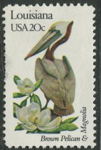 USA - Scott 1970 - State Birds & Flowers - 1982 - MNG - Single 20c Stamp