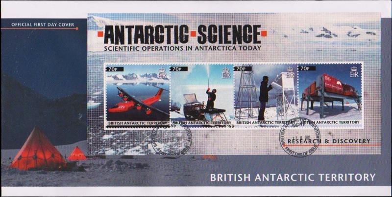 British Antarctic Territory Scott 431 Unaddressed.