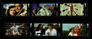 GB SG3602/7 2014 GREAT BRITISH FILM MNH