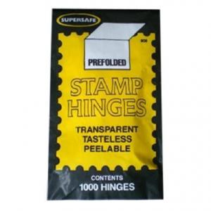 SUPERSAFE Prefolded STAMP HINGES Pack of 1000