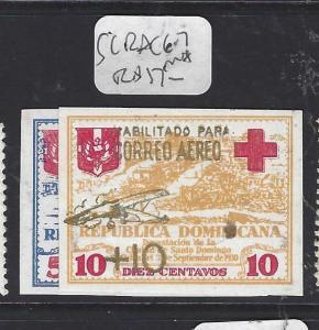 DOMINICAN REPUBLIC (P1010B)  SC RAC 6-7        MNH