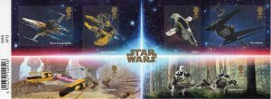Great Britain 2019 SPACE STAR WARS Miniature Sheet Imperforated Mint (NH)
