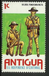 Antigua 1976 Scott# 424 MNH