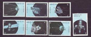 J23410 JLstamps 1987 laos set mhr/part hr #781-7 space