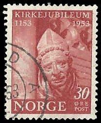 Norway - 330 - Used - SCV-0.75