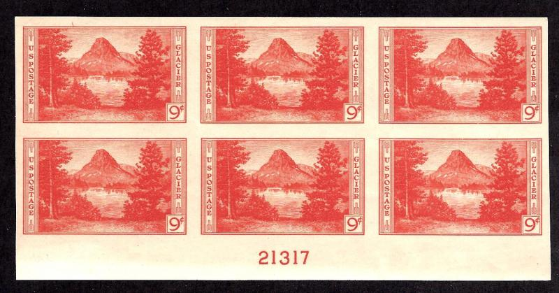 764 Mint,NH... Plate Block of 6... NGAI... SCV $45.00