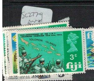 Fiji SC 277-9 MNH (7edi)