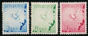Vereinigte Staaten Ryukyu C1-3 Neuwertig Nh Vogel