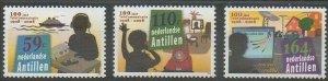 Netherlands Antilles 2009 #1211-3 MNH. Communications