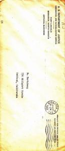 Dept. of Justice, INS Detention Camp, 1942, See Remark (C858)