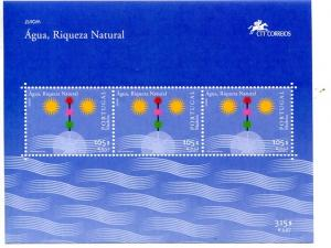Portugal  Madeira 2001 Europa mini sheet   Mint VF NH
