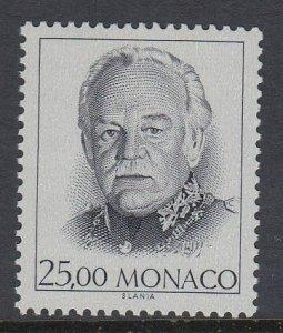 Monaco 1674 Prince Rainier III mnh