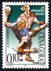 Montenegro MNH 2001 Handball