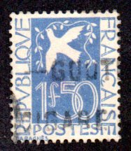 FRANCE 294 USED SCV $15.00 BIN $5.00 DOVE