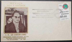 O) 1976 MEXICO, LIC. LUIS ECHEVERRIA ALVAREZ, MEXICAN TODAY AND TOMORROW EXHIBIT