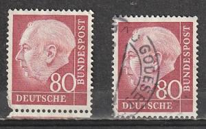 #717 Germany Mint NG & Used