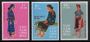 South Vietnam Scott 355-357 MNH** ethnic minorities set