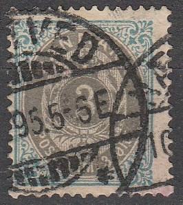 Denmark #25 F-VF Used  CV $15.00
