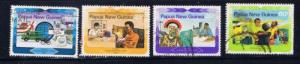 Papua New Guinea 584-87 Used 1983 set sh perf on low value