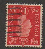 GB George VI  SG 463wi Used  wmk inverted