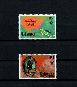 BAHAMAS - 1976 - AMERICAN BICENTENNIAL - GOVERNOR JOHN MURRAY - MINT MNH SET!
