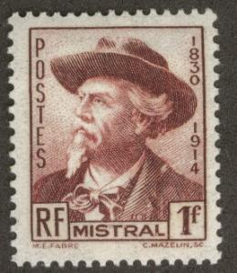 FRANCE Scott 419 MNH** Frederic Mistral 1941 stamp